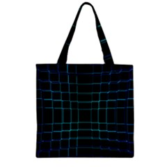 Background Wallpaper Texture Lines Zipper Grocery Tote Bag