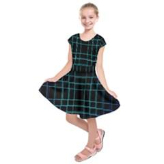 Background Wallpaper Texture Lines Kids  Short Sleeve Dress