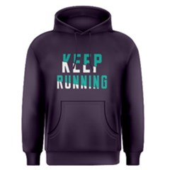 Keep running - Men s Pullover Hoodie