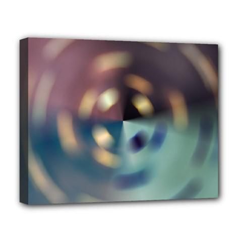 Blur Bokeh Colors Points Lights Deluxe Canvas 20  X 16