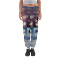 Blur Bokeh Colors Points Lights Women s Jogger Sweatpants