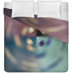 Blur Bokeh Colors Points Lights Duvet Cover Double Side (king Size)