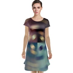 Blur Bokeh Colors Points Lights Cap Sleeve Nightdress
