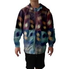 Blur Bokeh Colors Points Lights Hooded Wind Breaker (kids)