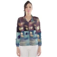 Blur Bokeh Colors Points Lights Wind Breaker (women)