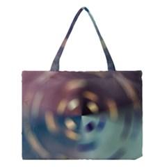 Blur Bokeh Colors Points Lights Medium Tote Bag