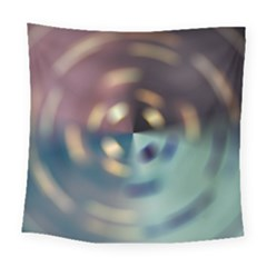 Blur Bokeh Colors Points Lights Square Tapestry (large)