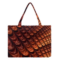 Brown Fractal Mathematics Frax Medium Tote Bag