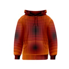 Orange Background Wallpaper Texture Lines Kids  Zipper Hoodie