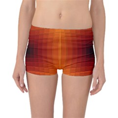 Orange Background Wallpaper Texture Lines Boyleg Bikini Bottoms