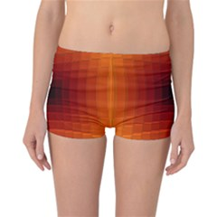 Orange Background Wallpaper Texture Lines Reversible Bikini Bottoms