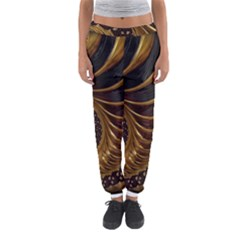 Fractal Spiral Endless Mathematics Women s Jogger Sweatpants