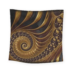 Fractal Spiral Endless Mathematics Square Tapestry (small)