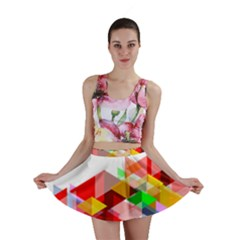 Graphics Cover Gradient Elements Mini Skirt