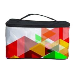 Graphics Cover Gradient Elements Cosmetic Storage Case