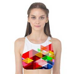 Graphics Cover Gradient Elements Tank Bikini Top