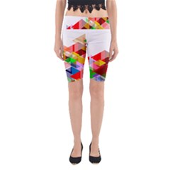 Graphics Cover Gradient Elements Yoga Cropped Leggings
