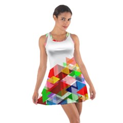 Graphics Cover Gradient Elements Cotton Racerback Dress
