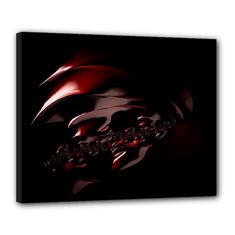 Fractal Mathematic Sabstract Canvas 20  X 16