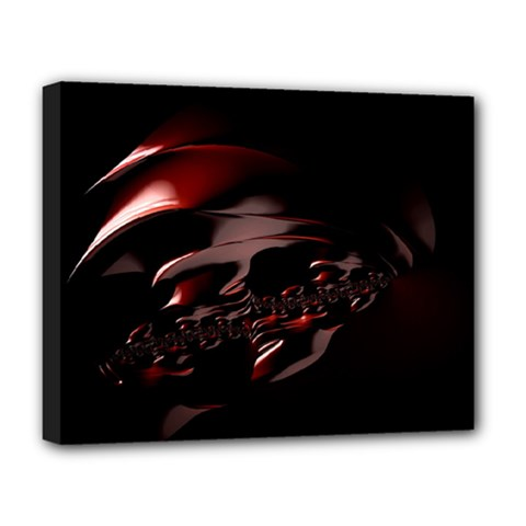 Fractal Mathematic Sabstract Deluxe Canvas 20  X 16