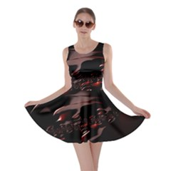 Fractal Mathematic Sabstract Skater Dress