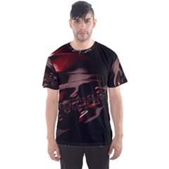 Fractal Mathematic Sabstract Men s Sport Mesh Tee