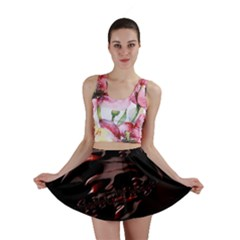 Fractal Mathematic Sabstract Mini Skirt