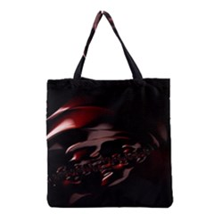 Fractal Mathematic Sabstract Grocery Tote Bag