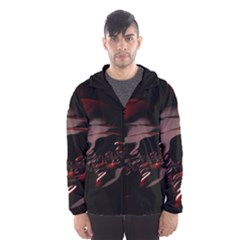 Fractal Mathematic Sabstract Hooded Wind Breaker (men)
