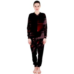 Fractal Mathematic Sabstract Onepiece Jumpsuit (ladies)