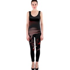 Fractal Mathematic Sabstract Onepiece Catsuit