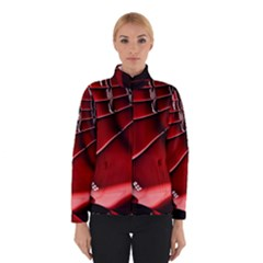 Red Black Fractal Mathematics Abstract Winterwear