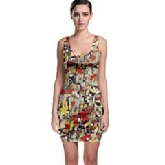 My Fantasy World 38 Sleeveless Bodycon Dress