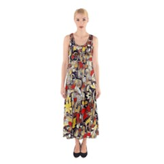 My Fantasy World 38 Sleeveless Maxi Dress