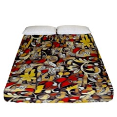 My Fantasy World 38 Fitted Sheet (California King Size)