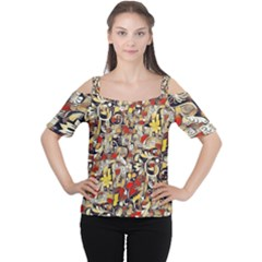 My Fantasy World 38 Women s Cutout Shoulder Tee