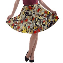 My Fantasy World 38 A-line Skater Skirt