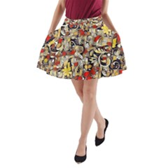 My Fantasy World 38 A-Line Pocket Skirt
