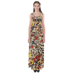 My Fantasy World 38 Empire Waist Maxi Dress