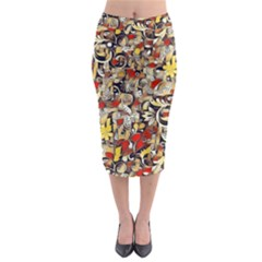 My Fantasy World 38 Midi Pencil Skirt