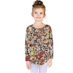 My Fantasy World 38 Kids  Long Sleeve Tee