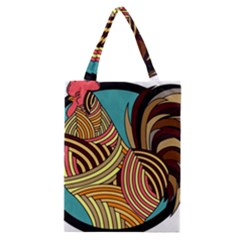 Rooster Poultry Animal Farm Classic Tote Bag