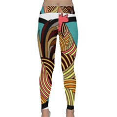 Rooster Poultry Animal Farm Classic Yoga Leggings