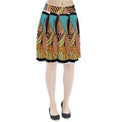 Rooster Poultry Animal Farm Pleated Skirt