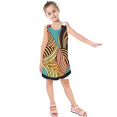 Rooster Poultry Animal Farm Kids  Sleeveless Dress