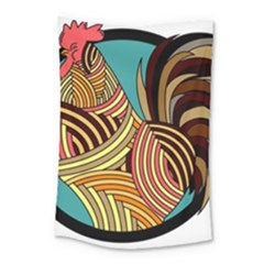 Rooster Poultry Animal Farm Small Tapestry