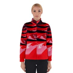 Red Fractal Mathematics Abstract Winterwear