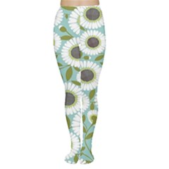 Sunflower Flower Floral Women s Tights