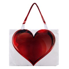 Heart Gradient Abstract Medium Tote Bag
