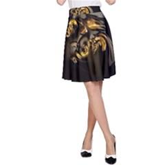 Fractal Mathematics Abstract A Line Skirt
